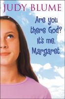 Cover art for Are you there God? It's me Margaret.