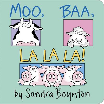Book Cover: Moo, Baa, La, La, La!