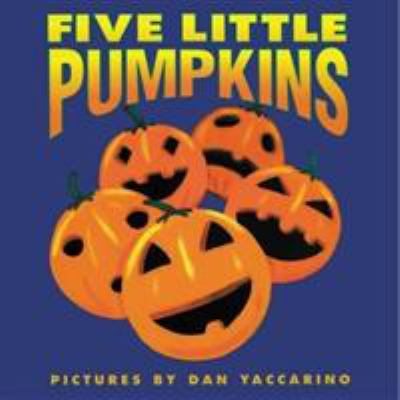 Five Little Pumpkins book cover