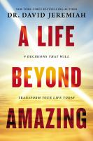 Cover art for A Life Beyond Amazing