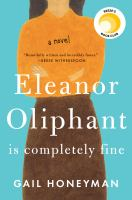 Cover Art for Eleanor Oliphant is Completely Fine