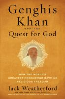Cover art for Genghis Khan and the Quest for God
