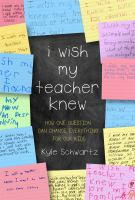 Cover art for I Wish My Teacher Knew