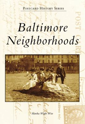 Book cover for Baltimore Neighborhoods