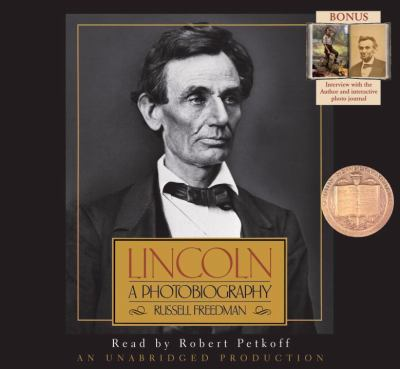 cover photo: Lincoln: A Photobiography