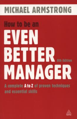 Even Better Manager book cover