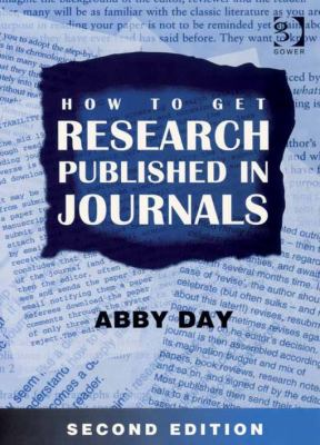 Image of cover to book, How to Get Research Published in Journals, that links out to eBook resource.