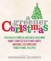 Cover of A Greener Christmas