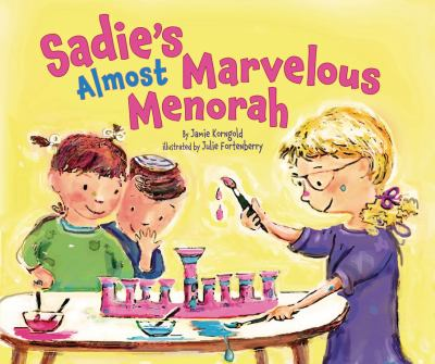 cover of Sadie's Almost Marvelous Menorah