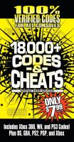 Codes & cheats.
