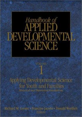 Book jacket for Handbook of Applied Developmental Science