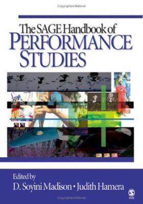 The SAGE Handbook of Performance Studies cover