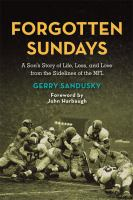 Cover of Forgotton Sundays by Gerry Sandusky