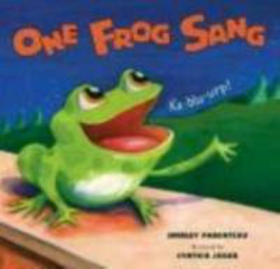 Cover image for One frog sang 