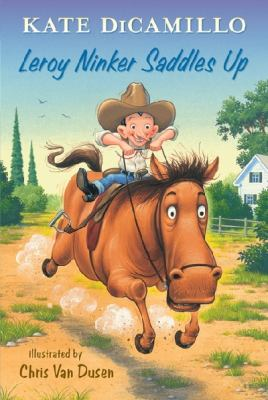 cover of Leroy Ninker Saddles Up