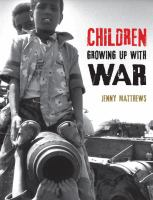 Cover art for Children Growing Up With War