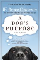 Cover art for A Dog's Purpose