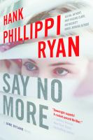 Cover art for Say No More