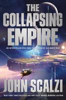Cover art for The Collapsing Empire