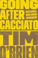 Cover art for Going After Cacciato