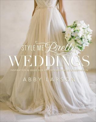 Cover image for Style me pretty weddings