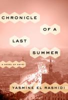 Cover art for Chronicle of a Last Summer