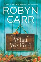 Cover art for What We Find