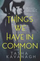 Cover art for Things We Have in Common