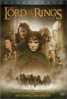 The Lord of the Rings: The Fellowship of the Ring (DVD cover)