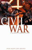 Captain America Civil War graphic novel cover
