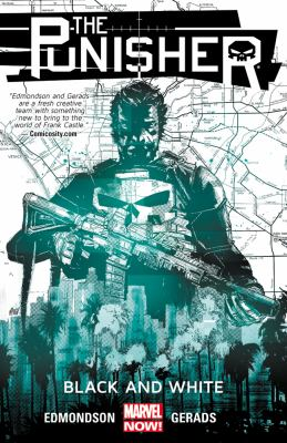 cover of The Punisher 1: Black and White