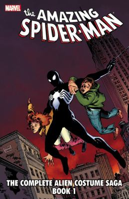 cover of Spider-Man 1: The Complete Alien Costume Saga