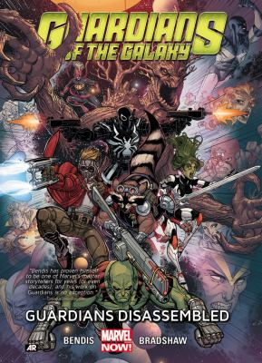 cover of Guardians of the Galaxy 3: Guardians Disassembled