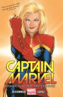 Captain Marvel (comic book cover)
