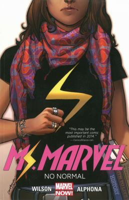 cover of Ms. Marvel 1: No Normal