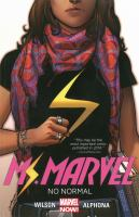 Cover art for Ms Marvel