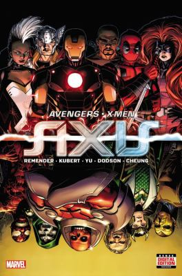 cover of Avengers & X-Men: Axis