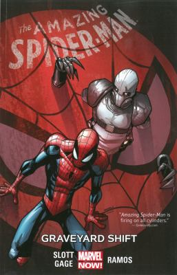 cover of Amazing Spider-man 4: Graveyard Shift