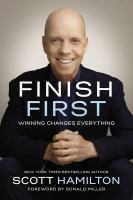 Cover art for Finish First