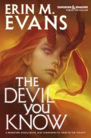 The Devil You Know by Evans, Erin M. © 2016 (Added: 3/20/17)