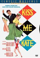 Kiss Me Kate (dvd cover)