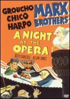 A Night at the Opera (DVD color)