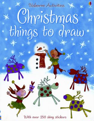 Details about Christmas Things to Draw