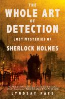 Cover art for The Whole Art of Detection