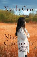 Cover art for Nine Continents