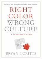 Cover art for Right Color Wrong Culture