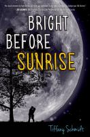 Cover art for Bright Before Sunrise