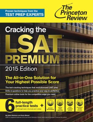 cover of The Princeton Review: Cracking the LSat Premium 2015