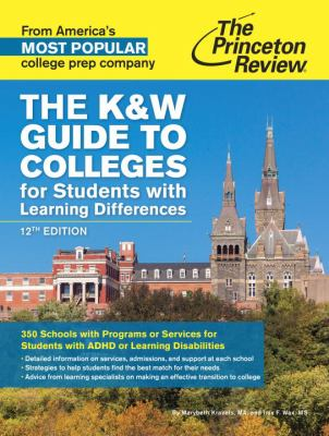 cover of The K&W Guide to College Programs & Services for Students With Learning Disabilities