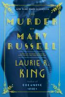 Cover art for Murder of Mary Russel